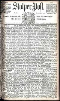 Stolper Post Nr. 231/1885