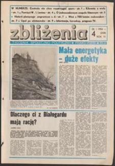 Zbliżenia : tygodnik społeczno-polityczny, 1984, nr 4