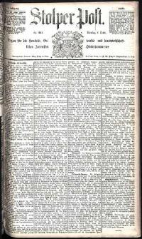 Stolper Post Nr. 233/1885
