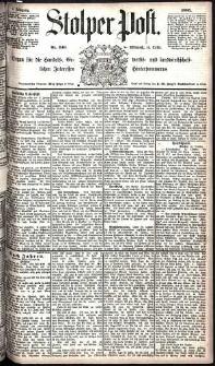 Stolper Post Nr. 240/1885
