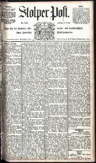 Stolper Post Nr. 242/1885