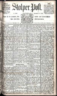 Stolper Post Nr. 243/1885