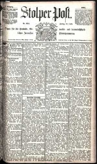 Stolper Post Nr. 254/1885