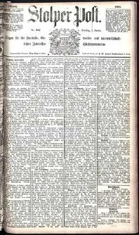 Stolper Post Nr. 257/1885