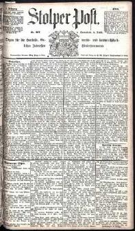 Stolper Post Nr. 267/1885
