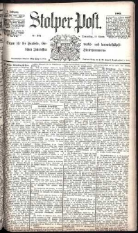 Stolper Post Nr. 271/1885