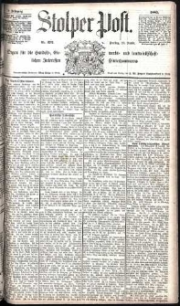 Stolper Post Nr. 272/1885