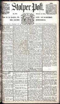 Stolper Post Nr. 276/1885