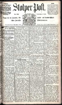Stolper Post Nr. 283/1885