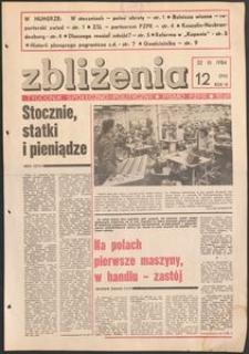 Zbliżenia : tygodnik społeczno-polityczny, 1984, nr 12
