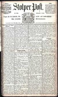 Stolper Post Nr. 288/1885