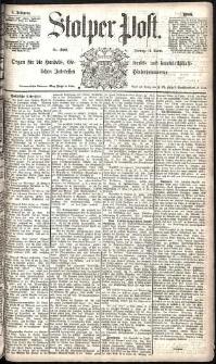 Stolper Post Nr. 290/1885