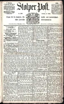 Stolper Post Nr. 299/1885