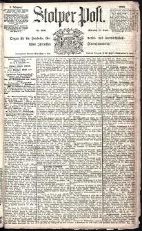 Stolper Post Nr. 300/1885