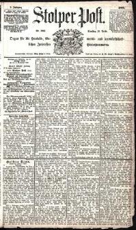 Stolper Post Nr. 303/1885