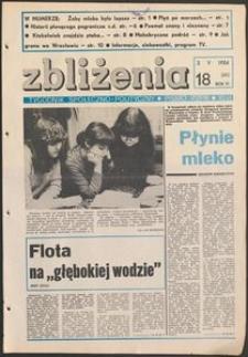 Zbliżenia : tygodnik społeczno-polityczny, 1984, nr 18