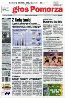Głos Pomorza, 2003, kwiecień, nr 96