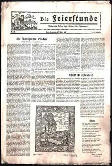 Die Feierstunde : Wochenend-Beilage der Zeitung für Ostpommern Nr. 13/1937