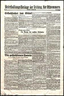 Unterhaltungs-Beilage der Zeitung für Ostpommern Nr. 63/1938