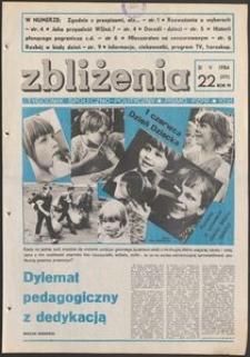 Zbliżenia : tygodnik społeczno-polityczny, 1984, nr 22
