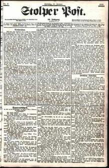 Stolper Post Nr. 11/1906