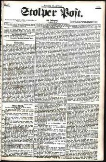 Stolper Post Nr. 47/1906