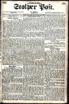 Stolper Post Nr. 60/1906