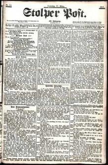 Stolper Post Nr. 72/1906