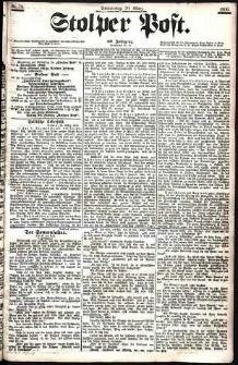 Stolper Post Nr. 74/1906