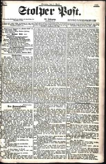 Stolper Post Nr. 77/1906