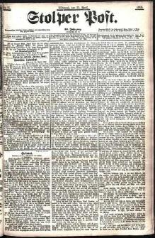 Stolper Post Nr. 95/1906