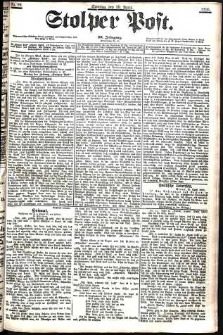 Stolper Post Nr. 99/1906