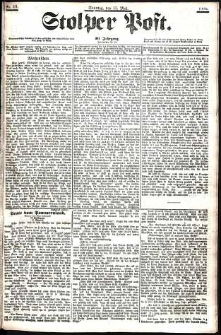 Stolper Post Nr. 111/1906