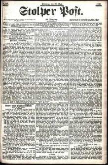 Stolper Post Nr. 123/1906