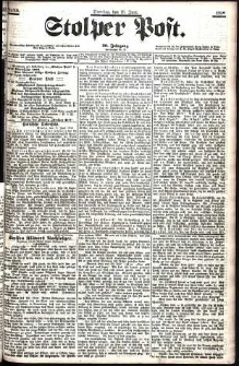 Stolper Post Nr. 140/1906