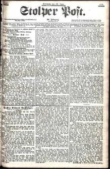 Stolper Post Nr. 141/1906