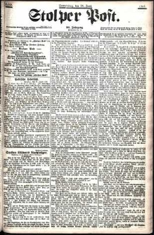 Stolper Post Nr. 148/1906