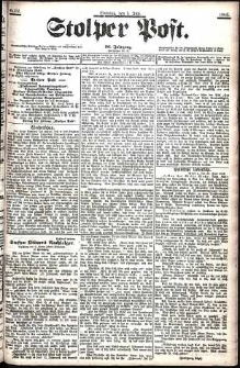 Stolper Post Nr. 151/1906