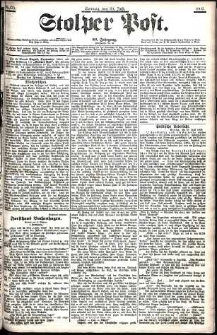 Stolper Post Nr. 175/1906