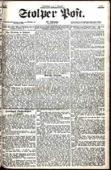 Stolper Post Nr. 182/1906