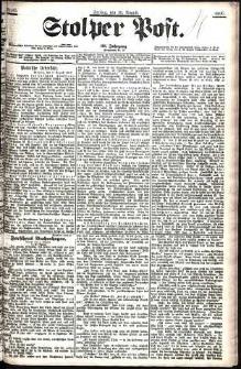 Stolper Post Nr. 185/1906