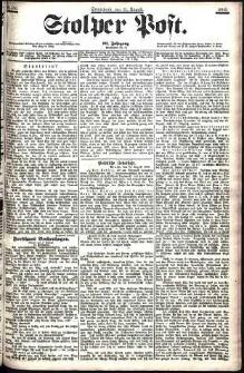 Stolper Post Nr. 186/1906