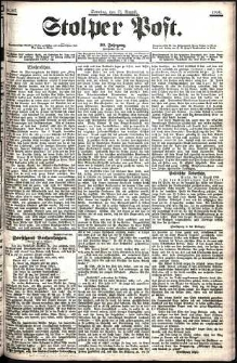 Stolper Post Nr. 187/1906
