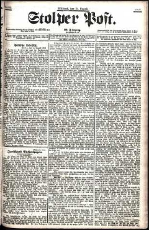 Stolper Post Nr. 189/1906