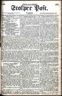 Stolper Post Nr. 219/1906