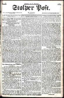 Stolper Post Nr. 271/1906