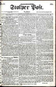 Stolper Post Nr. 272/1906