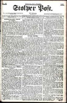 Stolper Post Nr. 285/1906