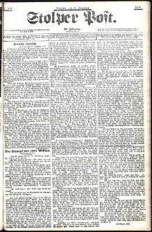 Stolper Post Nr. 289/1906