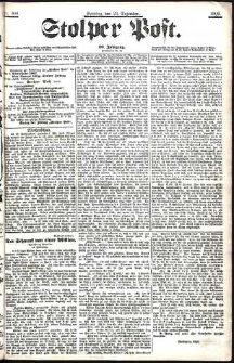 Stolper Post Nr. 300/1906